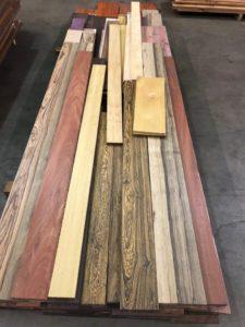 Custom Hardwood Kitchen Cabinets